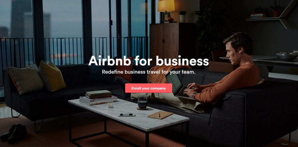 Airbnb for business- peer to peer
