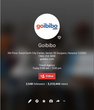 goibibo google plus