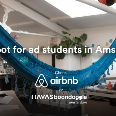 You won't believe what Havas Amsterdam is doing to recruit interns?
