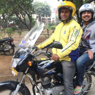 Bike-as-a-taxi service Baxi launches in Gurgaon after $1.5 million funding