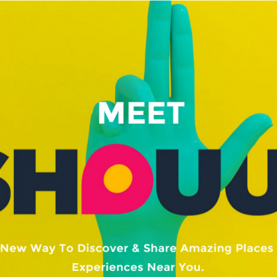 Shouut is the only app you will need for local discovery