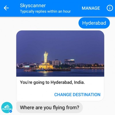 How good is Skyscanner's Facebook Messenger chat bot?