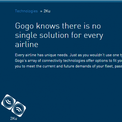 In flight Wi-Fi market heats up as Delta adopts Gogo's satellite based technology
