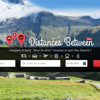 DistancesBetween brings door-to-door journey planning to India