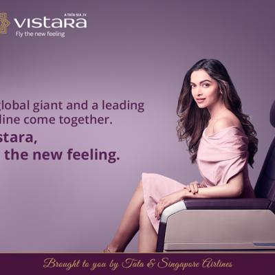 Vistara makes the big reveal of #WhichStar: Ropes in actress Deepika Padukone as brand ambassador