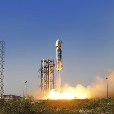 Affordable space travel comes closer as Jeff Bezos' Blue Origin aces in-flight escape test