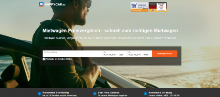 A car rental metasearch Happycar secures Euro 2.6 million in Series A