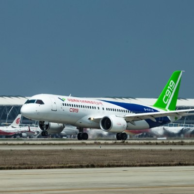 China's Airbus A320 rival is all set for its maiden flight