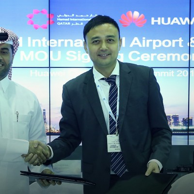 Huawei to contribute towards digital transformation of Hamad International Airport