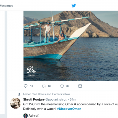 The #DiscoverOman TVC Case-Study: How not to do Twitter Influencer Marketing