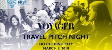 MIST and Voyager HQ to co-host Travel Tech Pitch night in Vietnam