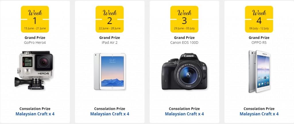 #BeautifulMalaysia prizes