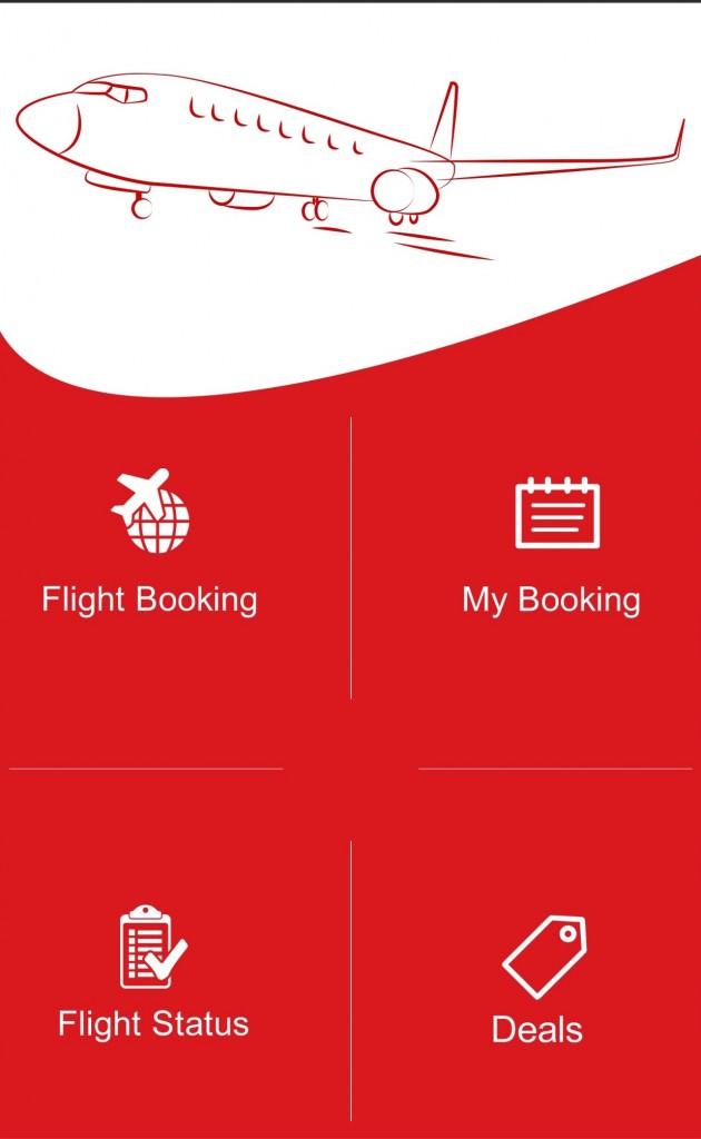 SpiceJet Mobile App UI