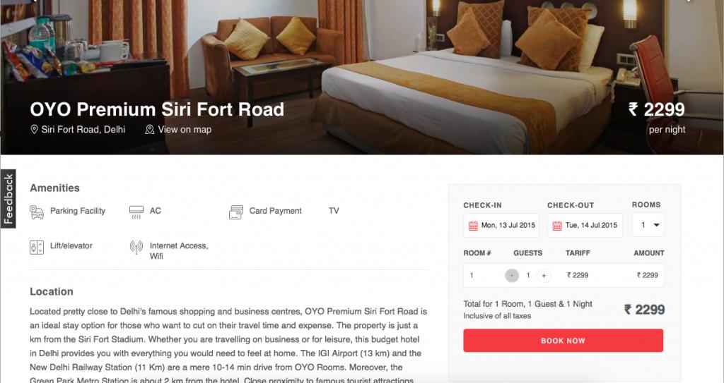 OYO Premium Siri Fort Road