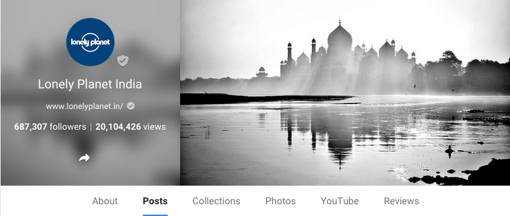 Lonely Planet India on Google+