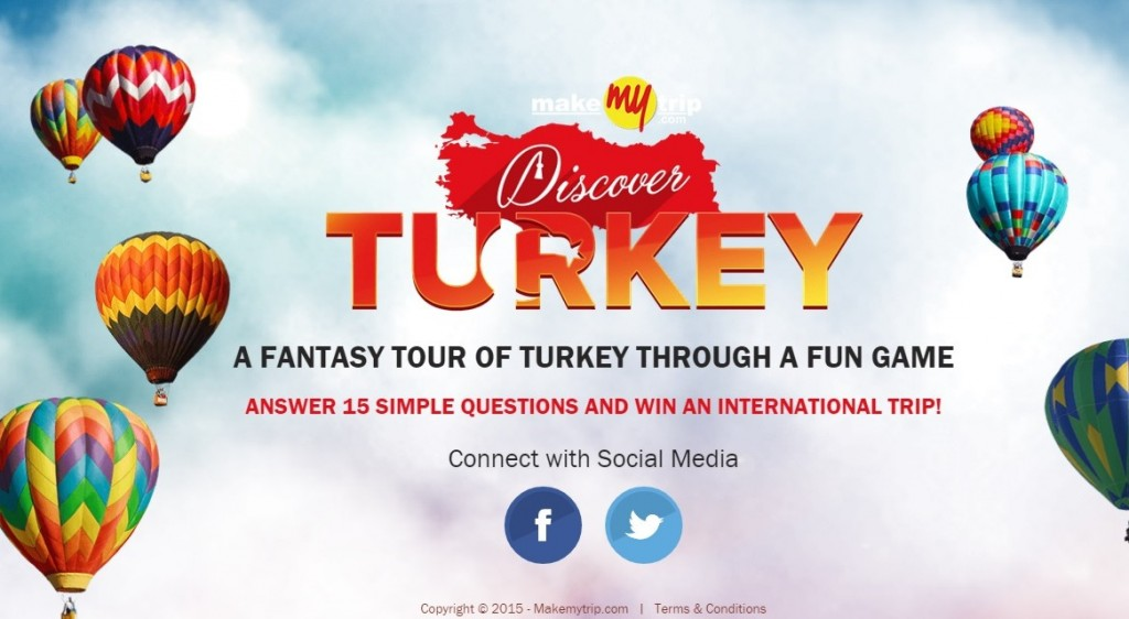 discover turkey welcome screen
