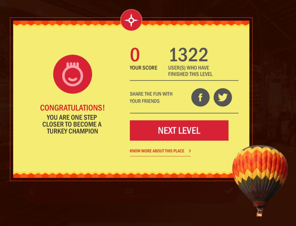 Score discover turkey
