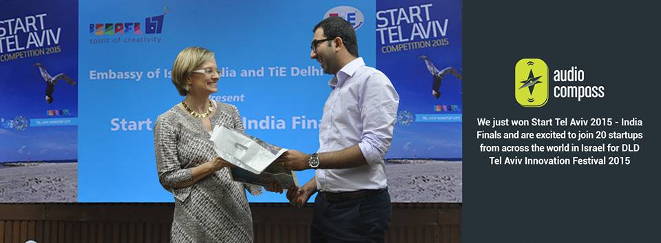 AudioCompass is the winner of Start Tel Aviv – India Finals