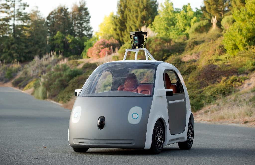 Google self drive car