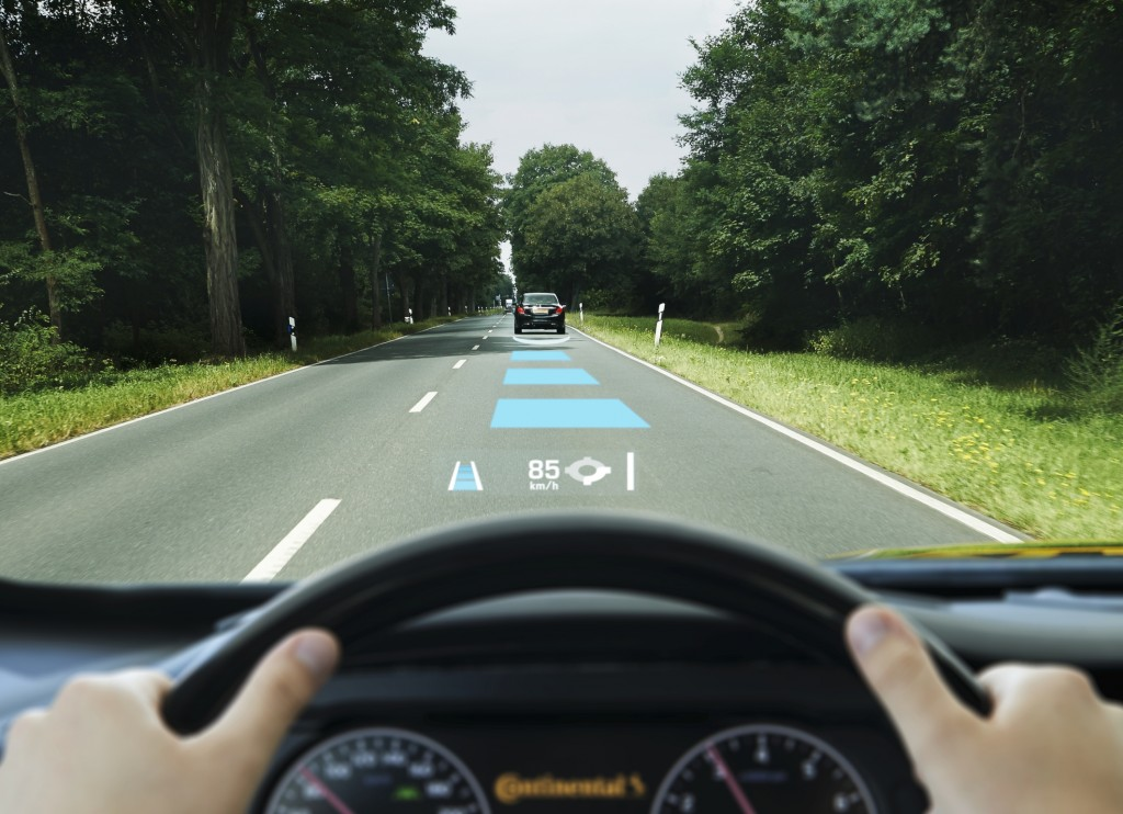 AR Heads up display by Continental