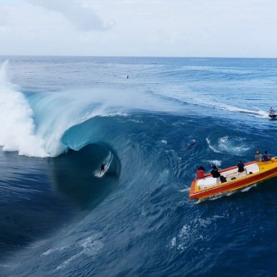 These Hawaiian Surf Photographers might have shot the most extraordinary Drone footage ever