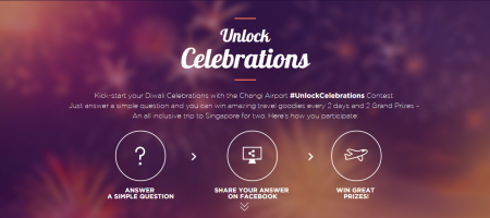 Changi Airport joins India in celebrating Diwali with #UnlockCelebrations contest
