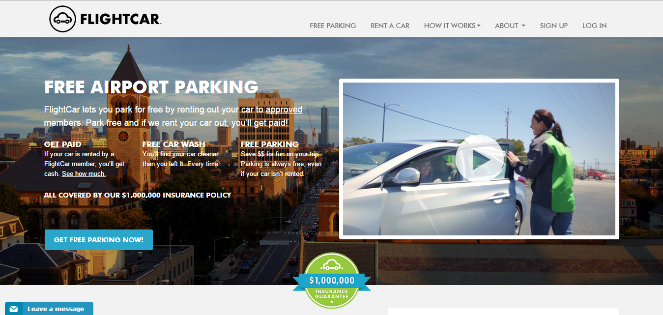 FlightCar_FreeParking