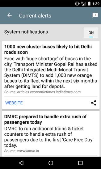 Google Delhi App