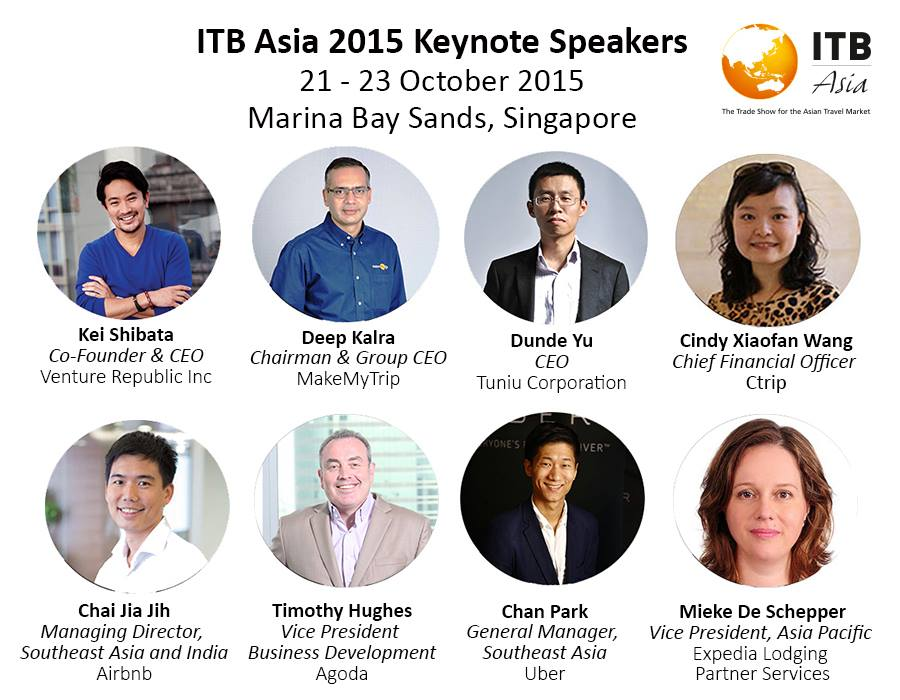ITB Asia Keynote Speakers