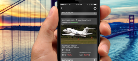 JetSmarter App: The Uber for private jets