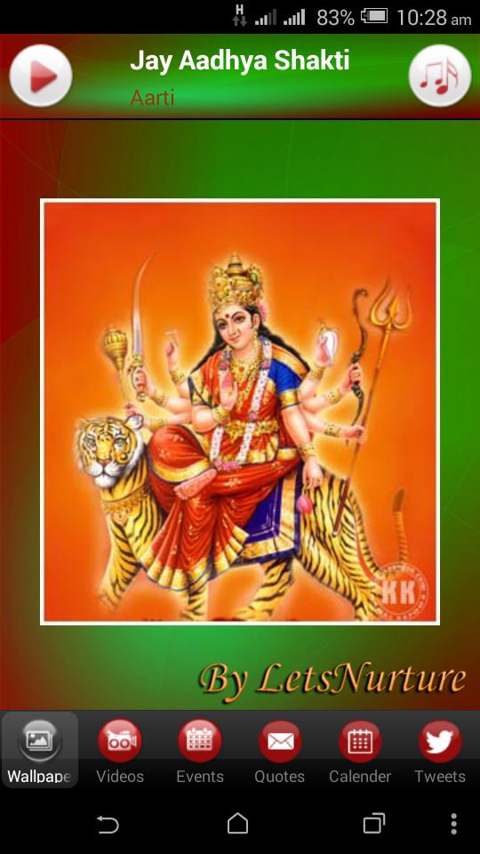 Navratri Festival App