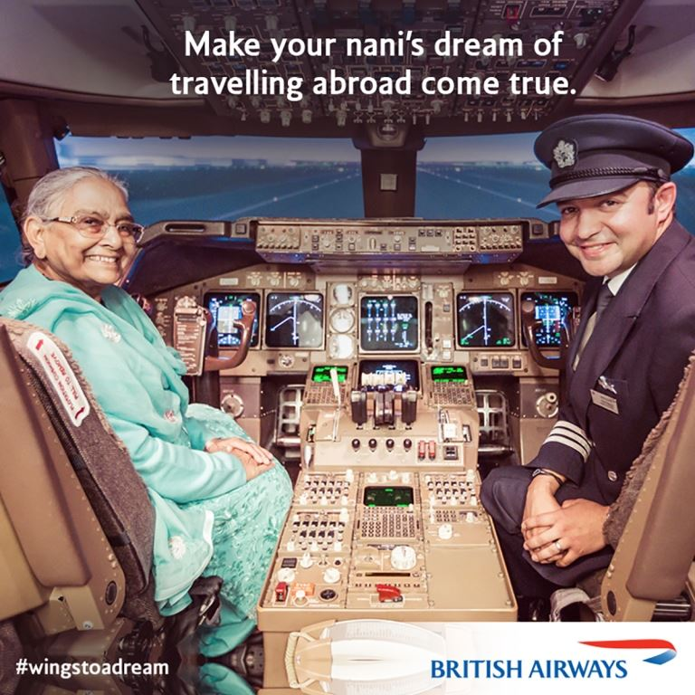 british airways #wingstoadream