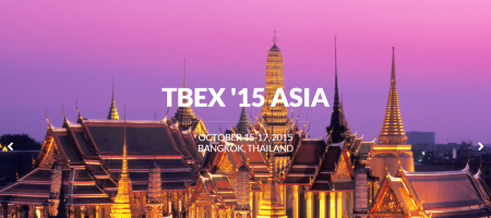 TBEX Asia'15 gets underway next week, here is what you need to know