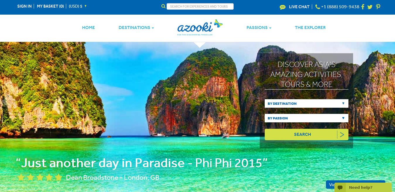 Azooki Homepage Inarticle
