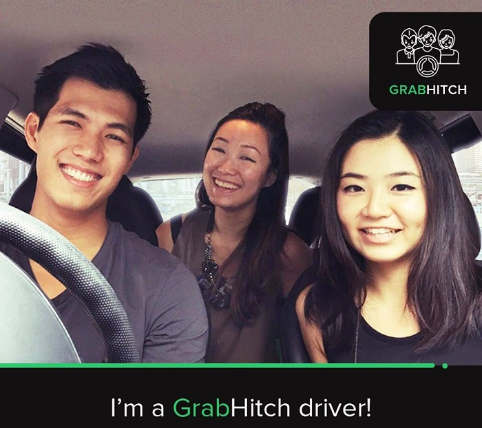 GrabHitch driving