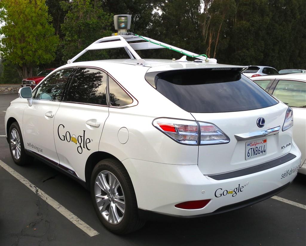 google lexus lx 450 h autonomous car
