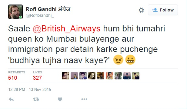 tweet british airways
