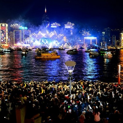 Hong Kong Tourism Board will host a pyromusical, marking the beginning of 2016