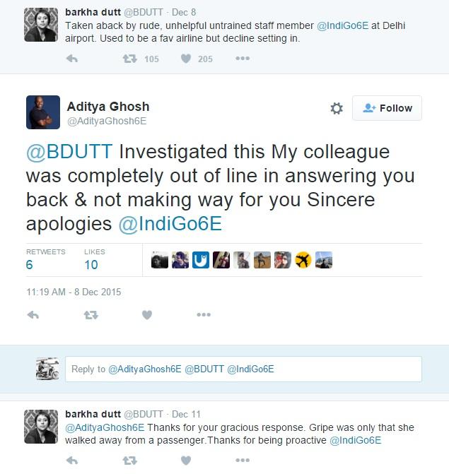aditya ghosh indigo tweet