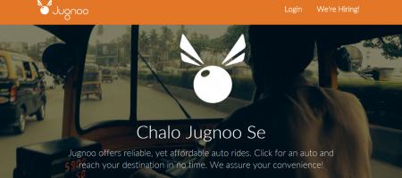 Auto rickshaw aggregator Jugnoo raised $5.5 Mn in series B round