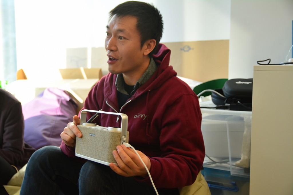 Isaac Mao at HongKong Science and Technology Park