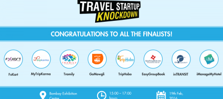 Announcing the finalists of the first Travel Startup Knockdown in Mumbai