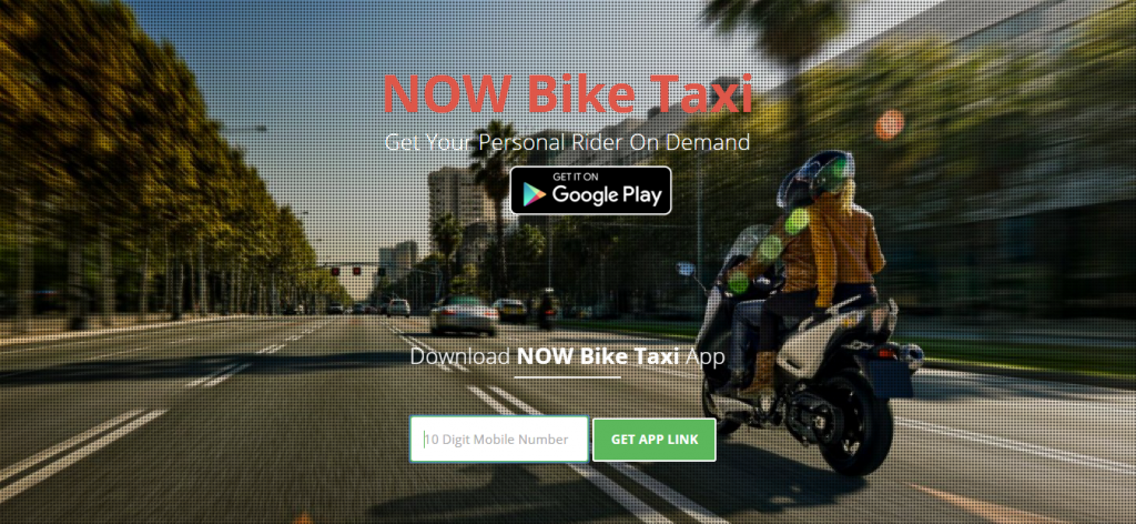 NOW bike taxi
