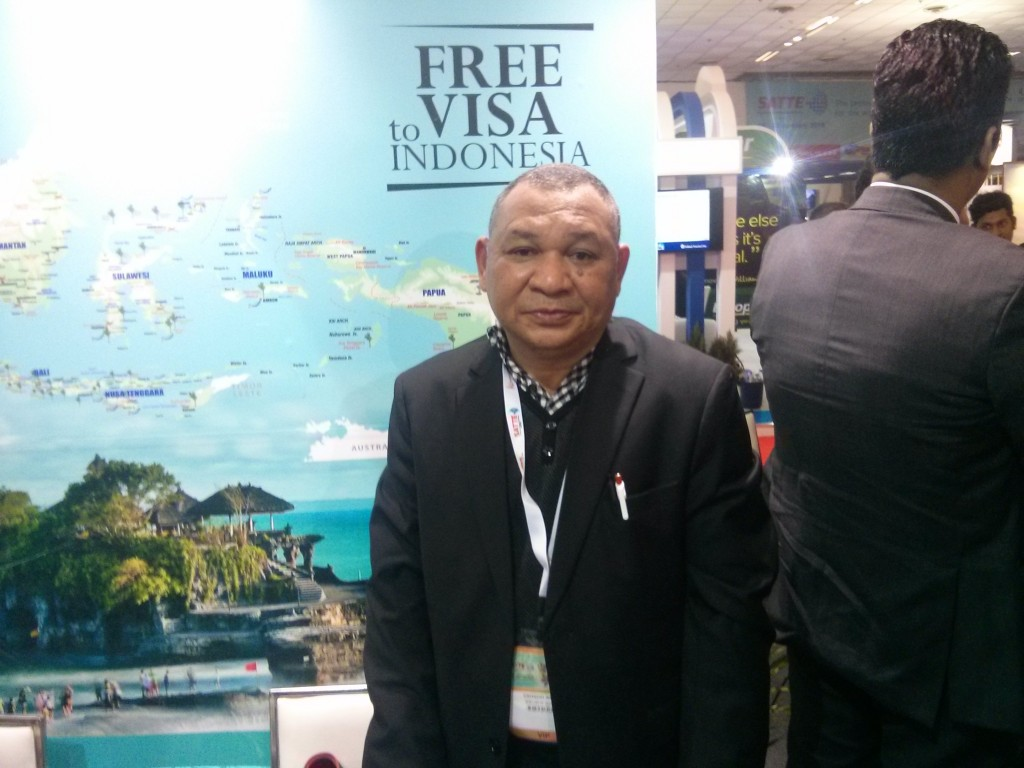 Vinsensius Jemadu, Director for Asia Pacific Tourism Promotion for Indonesia