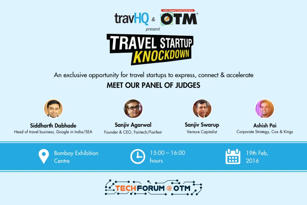travel startup knockdown
