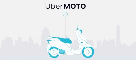 Uber launches UberMOTO bike taxi service in Bangkok