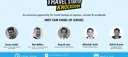 Introducing the judge panel of second Startup Knockdown in Delhi