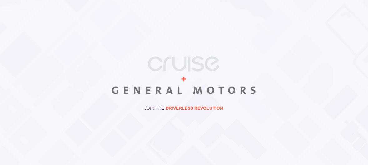 general motors cruise