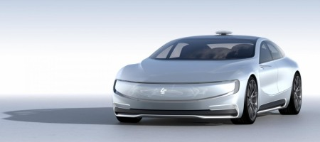 LeEco showcases electric autonomous car: Your move Tesla