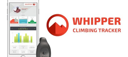 The Whipper whips out the best of the tracking experience for climbers
